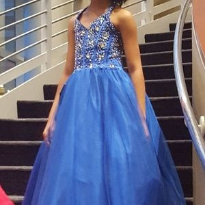 Other - Kids Royal blue pageant dress